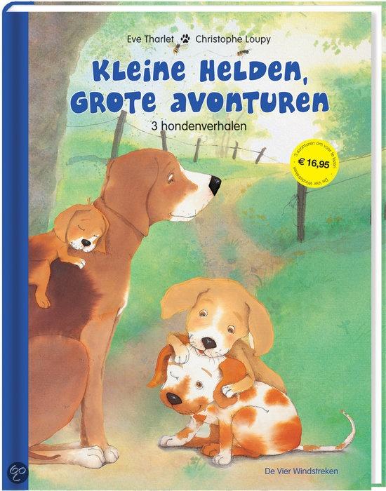 KLEINE HELDEN, GROTE AVONTUREN - Christophe Loupy - 9789051161274 - € 16,95 - GRATIS VERZENDING. Vanaf ca. 4 jaar. 3 hondenverhalen. In Kleine helden, grote avonturen zijn drie verhalen gebundeld die al eerder zijn verschenen bij De Vier Windstreken: het goed lopende Mag ik een kusje?, Verdwaald op de markt en Nina wil alles weten! Steeds ontdekt een jonge hond een stukje van de wereld om hem heen. BESTELLEN BIJ TOPBOOKS OF VERDER LEZEN? KLIK OP BOVENSTAANDE FOTO!
