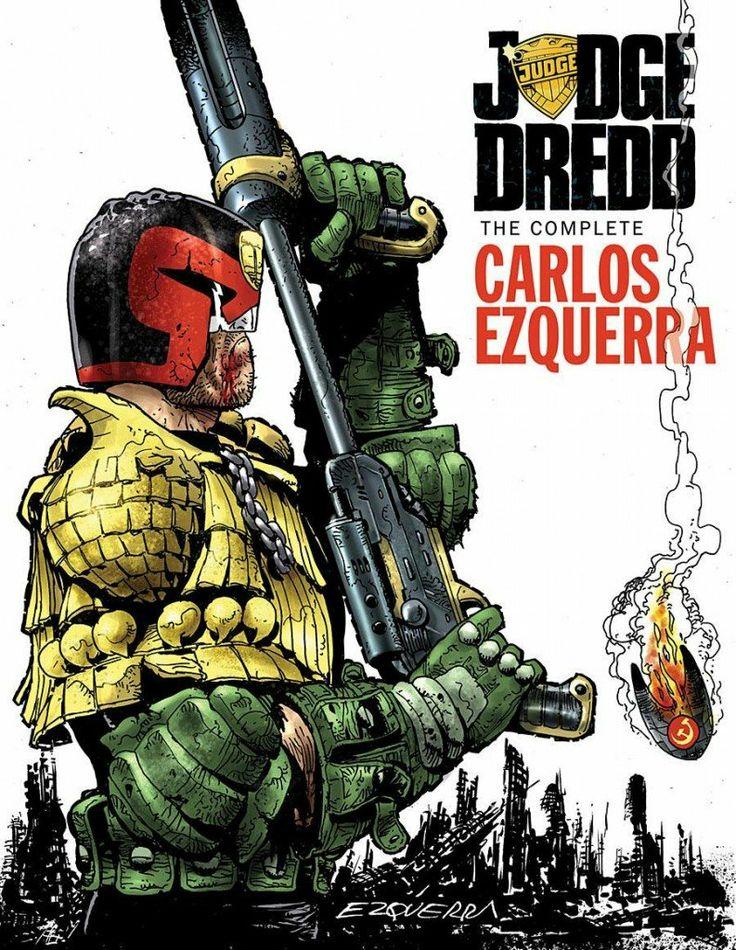 Entrevista a Carlos Ezquerra, creador de Juez Dredd