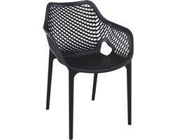 Krzesło ogrodowe AIR XL - Czarny