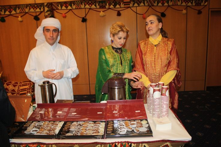 Arab Embassies are highlighting the Coffee, Tea and Sweets as  national treasures and arguments for World Best Tourism Destination designation.