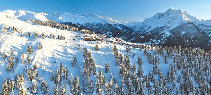 Difficile de se lasser de cette vue d'exception à La Norma #ski #Savoie