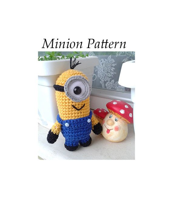 Amigurumi Minion Etsy : 17 Best images about Legos & Minions on Pinterest Lego ...