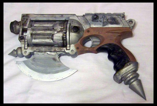 10 Nerf Maverick Mod 1 by Sathiest Emperor Fifteen Custom Built Recycled Nerf Guns