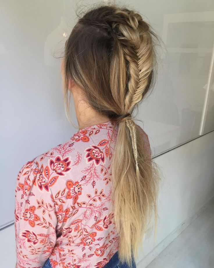 """344 Likes, 5 Comments - Blonde Hair Colour Studios (@vivalablonde) on Instagram: """"Messy boho braids ✨✨by our talented apprentice @kirsten_vivalablonde who has the magic styling…"""""""