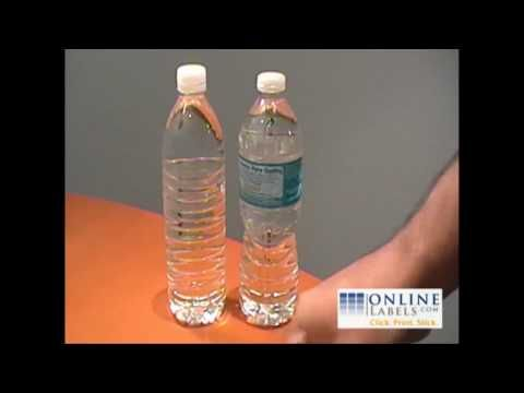 Create Your Own Personalized Water Bottle Labels - Do it yourself video