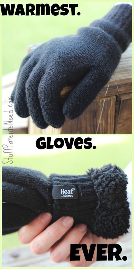 Heat Holders: warmest gloves ever!!!