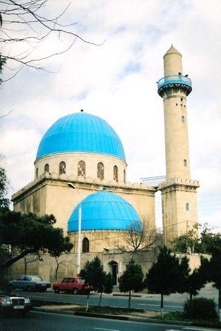 """Blue"" Mosque at Baku, Azerbaijan"