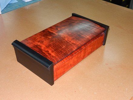 curved lid jewelry box by retiredcoastie lumberjocks. Black Bedroom Furniture Sets. Home Design Ideas
