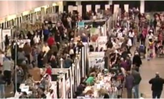The Made by Hand Show is a large craft held in Mississauga and hamilton.  Check website for upcoming dates.