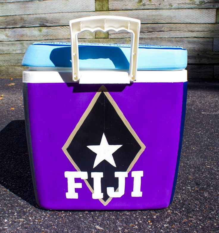 fiji fraternity cooler
