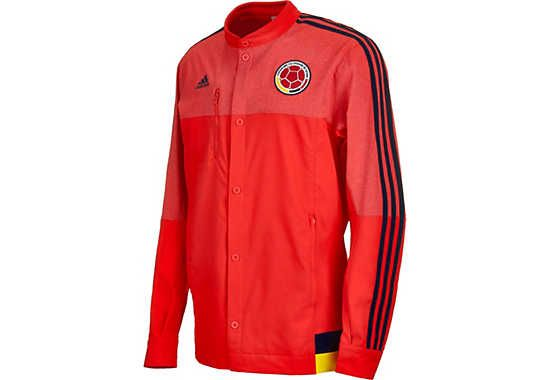adidas Colombia Anthem Jacket - Red and Blue