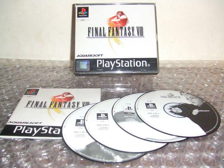 FINAL FANTASY VIII 8 FF8 FFVIII - PS1 ps2 ps3 playstation - PAL - Prima Stampa