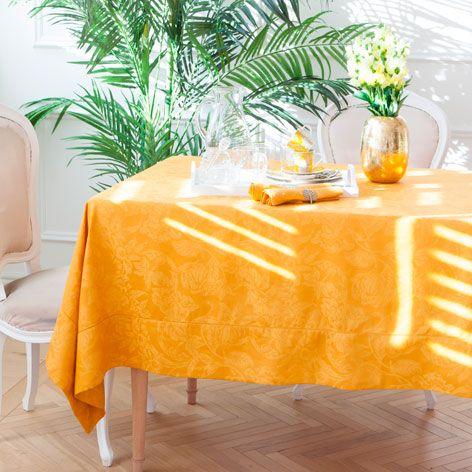 LEINENTISCHDECKE UND -SERVIETTEN MIT JACQUARDMUSTER - Tischdecken & Servietten - Tisch | Zara Home Deutschland