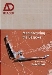"""Manufacturing the Bespoke"" serves as a survey of exploration, development and technological convergence in the field of digitally driven architectural fabrication."