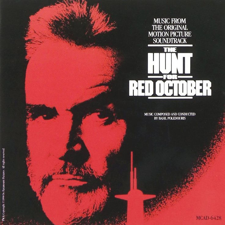 """The Hunt For Red October"" movie soundtrack, 1990."