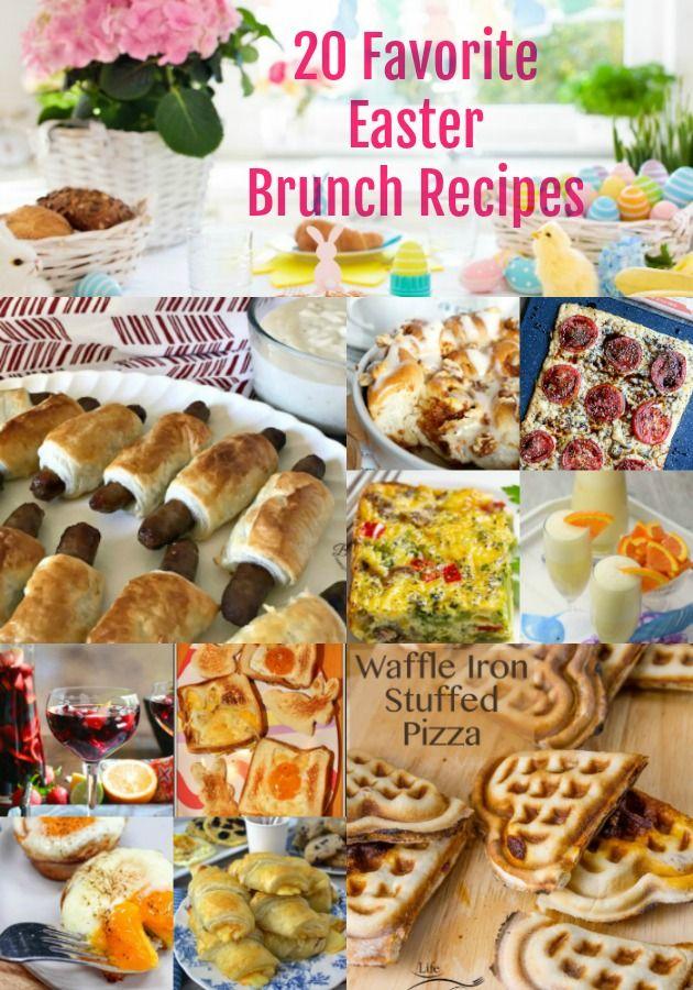 20 Favorite Easter Brunch Recipes On Tasty Tuesdays Link Party Easter Brunch Food Easter Brunch Tasty