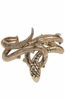 Wildfox Couture Jewelry Snake Cuff in Antiqued Rose Gold Wildfox Couture