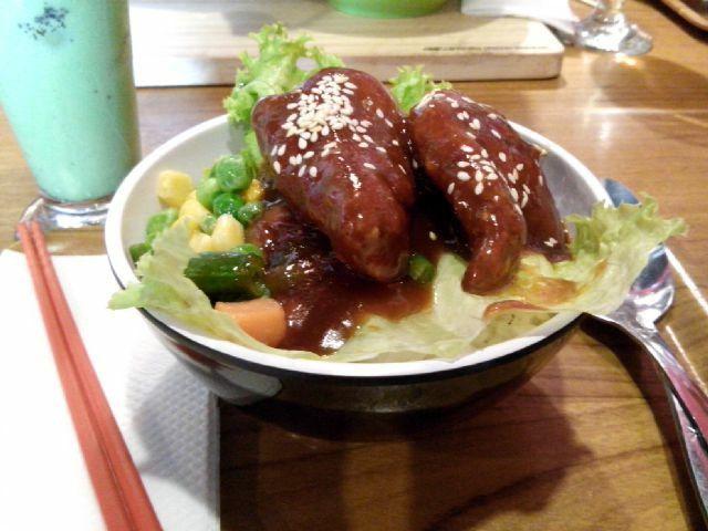 Lunch! Nama menunya lupa haha  at Ohayou Ramen Cafe
