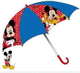 Bescherm jezelf tegen de regen met deze coole paraplu van Mickey Mouse! Leuk cadeautje voor kinderen die fan zijn van deze leuke figuren!Diameter: 65 cm