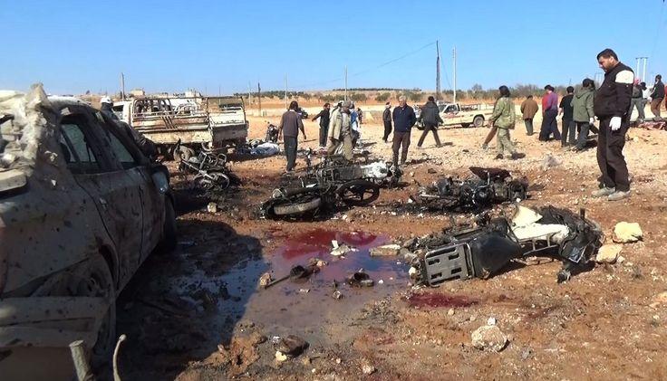Le dernier fief de l'État islamique était tombé, jeudi, aux mains de l'armée turque et de ses alliés rebelles syriens. Ce vendredi, un attentat suicide, revendiqué par le groupe djihadiste, a fait au moins 77 morts dans la ville.
