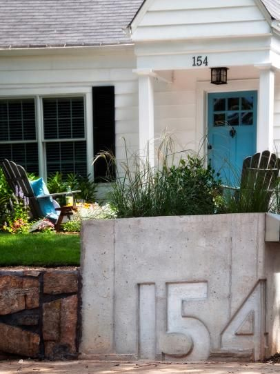 DIYNetwork.com has home improvement projects under $100 that will add instant curb appeal to your house.