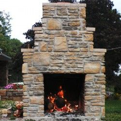 Our Outdoor Fireplace Kits Come With All Of The Equipment You Need To Create An Outdoor