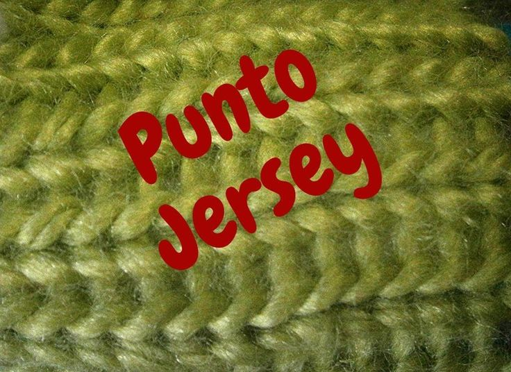 Punto Jesey en Telar - Video Tutorial