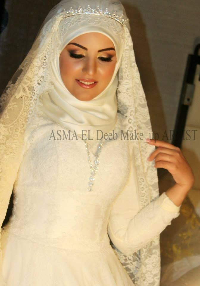 egyptian muslim bride muslim wedding dress and