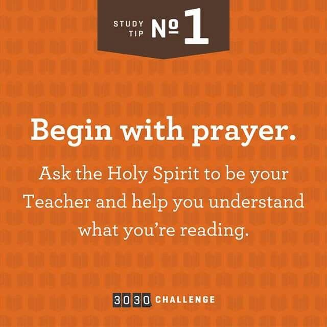 Begin with Prayer