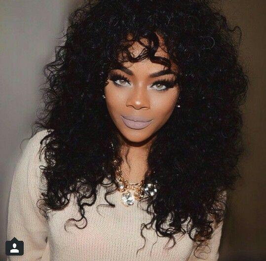 black women beach hair