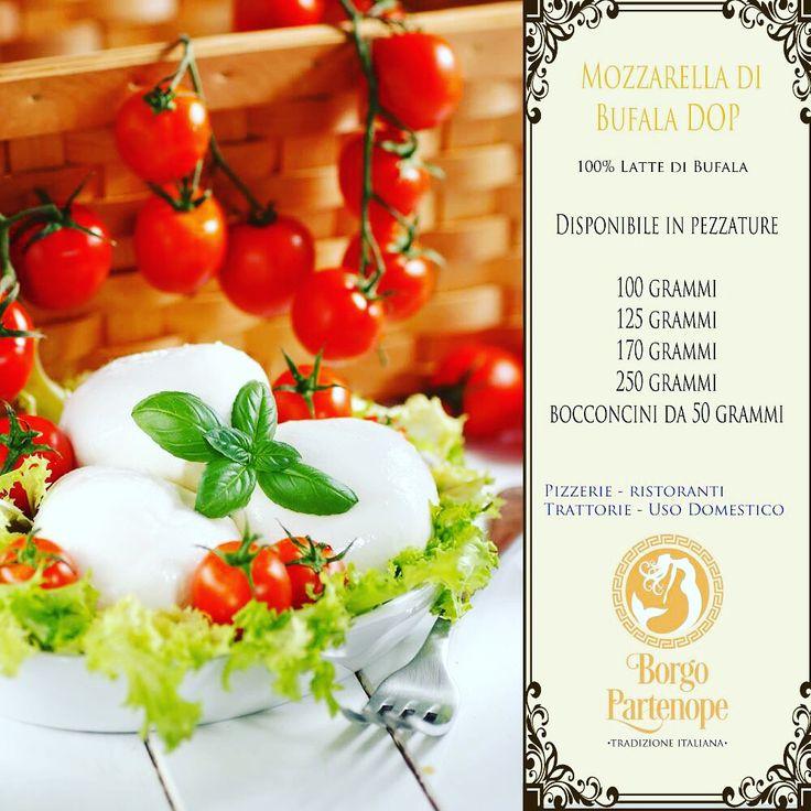 #Mozzarella Campana 100% Bufala Borgo Partenope direttamente a casa tua in diverse quantità