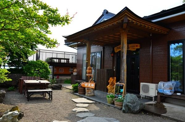Aomori Story: Café Fuku Directions: From POL gate, go straight all the way into Towada (Route 10). Café Fuku is on a hill on your right. You will see a sign peeking out from a hill. I will have to get back to you on the approximate distance.