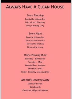 Good Tips On How To Keep Your House Clean… Ok, I can do this!   Modern Home Decor