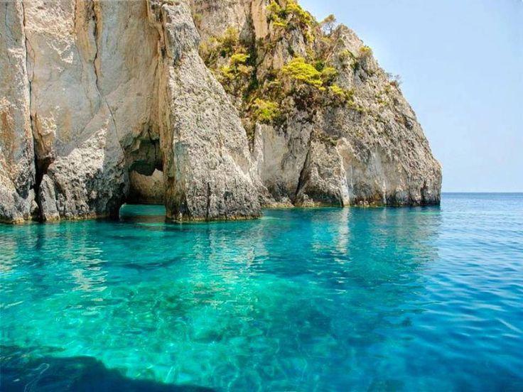 Ζάκυνθος - Γαλάζιες σπηλιές