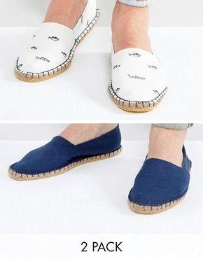 Men's Espadrilles | Men's Espadrilles Casual Shoes | ASOS