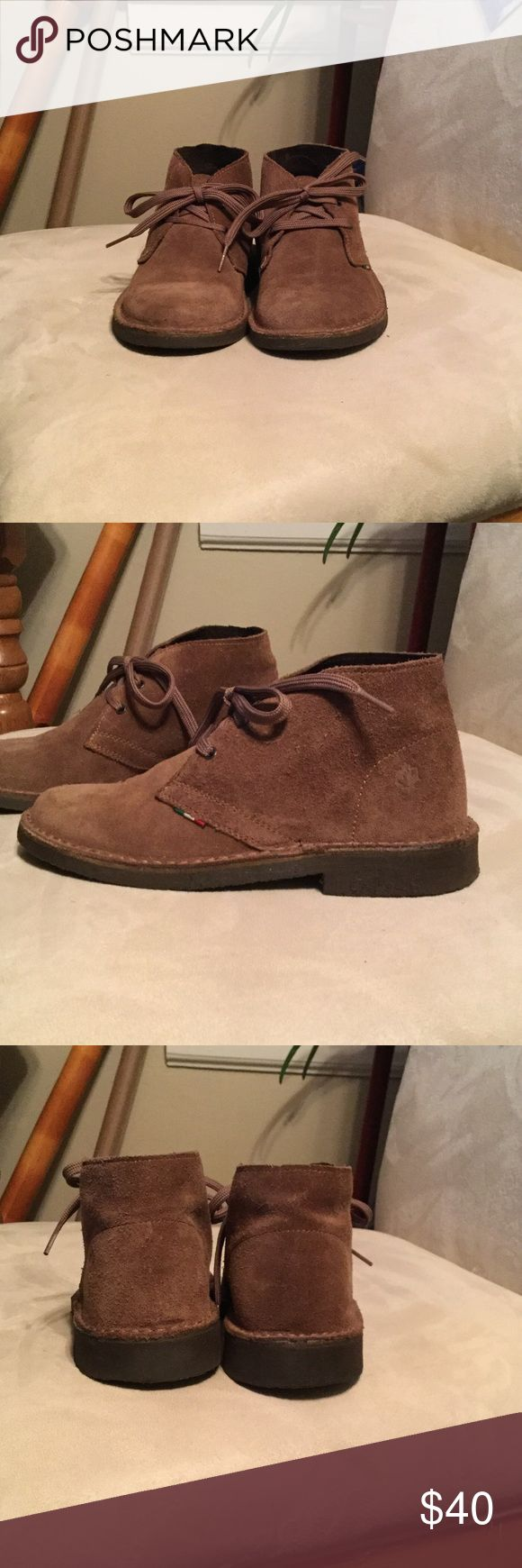 """Lumberjack boots """"Desert boots"""" tan suede ankle boots,new never worn outside. I wore them on the carpet trying to see if they fit me. lumberjack Shoes Ankle Boots & Booties"""