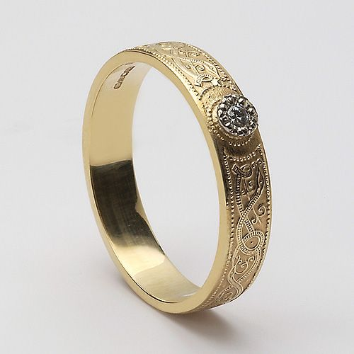 Meara Celtic Florentine Diamond (C-60).  John, Please get me this ring! LOVE, your wife.