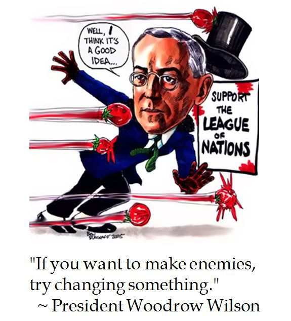 Woodrow Wilson on Change