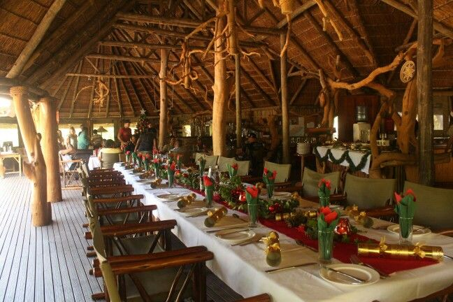 Christmas Lunch at Forest Camp Main Lodge