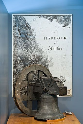One of the thousand nautical items at the Museum of the Atlantic, Including exhibits on the Halifax Explosion and the Titanic. Located on the Halifax Waterfront Boardwalk