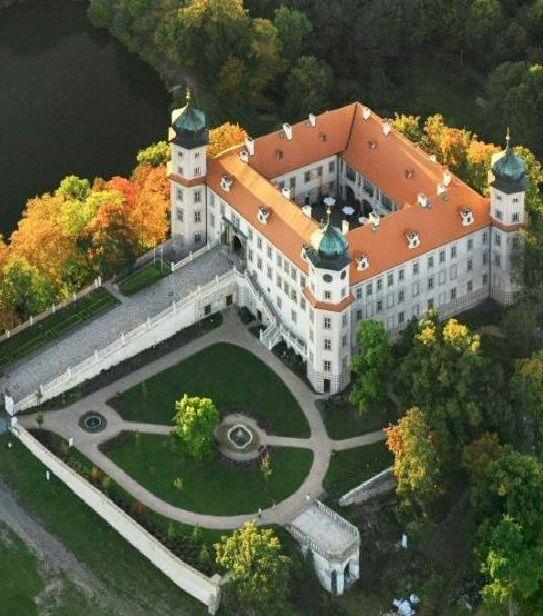 Mníšek castle (Central Bohemia), Czechia #castle #visitczechia #czechia