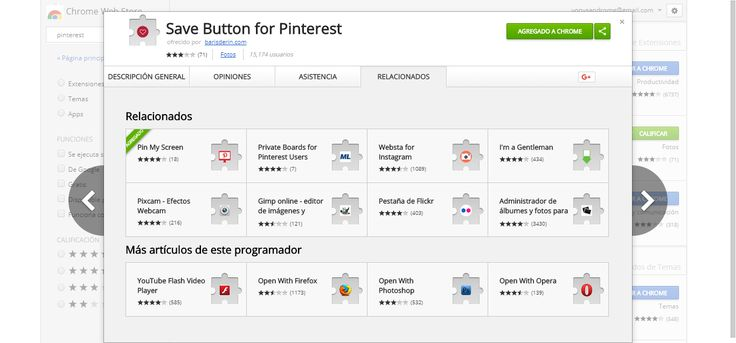 Save Button for Pinterest - Chrome Web Store