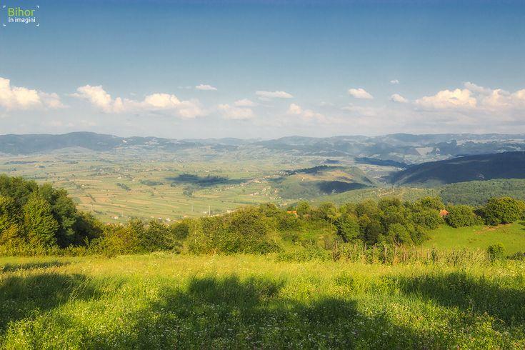 Vedere de pe Dealul Popii | Bihor in imagini