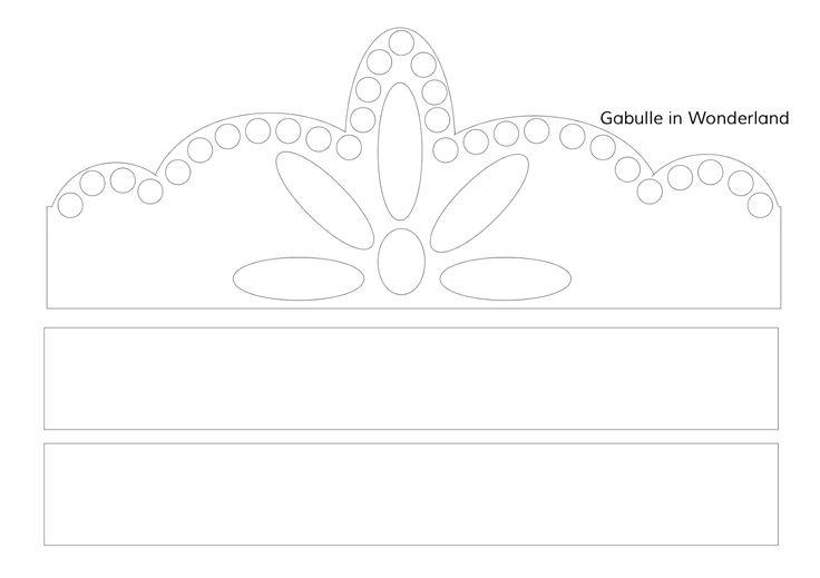 Gabulle in Wonderland: Spécial fête des rois : couronnes pour enfants à imprimer
