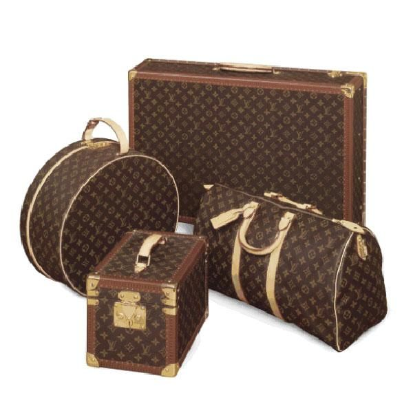 The 10 best luxury luggage sets to invest in - Elle Canada. This Louis Vuitton luggage is worthy of a lifetime of luxe trips (on a private jet, of course).  Louis Vuitton Alzer 70 monogram canvas suitcase ($8,200), Keepall Bandouliere 55 duffle bag ($1,760), beauty case ($4,550) and hat box ($3,350).