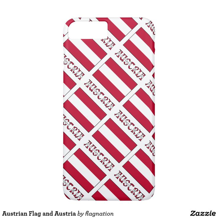 #Austrian Flag and Austria iPhone 7 Plus Case