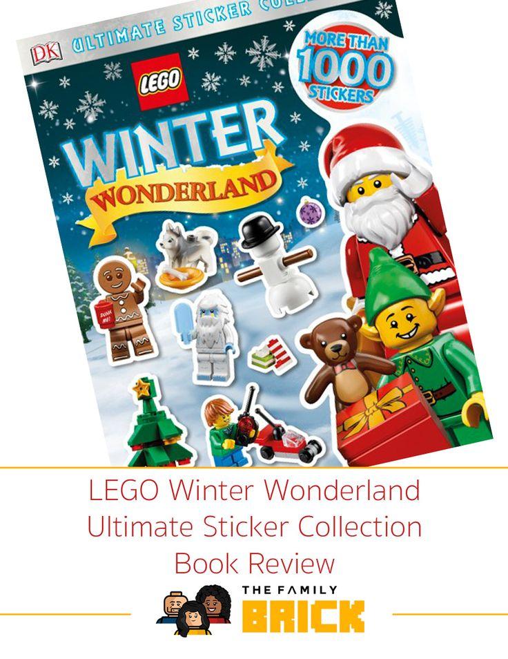LEGO Winter Wonderland Ultimate Sticker Collection Book