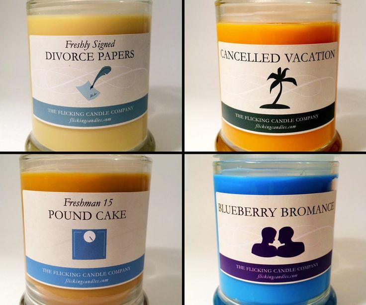Flick Killjoy Candles | DudeIWantThat.com