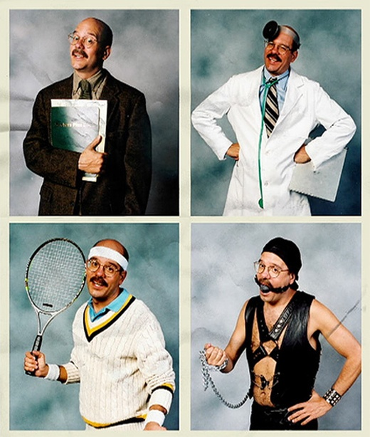"Tobias Funke Headshots to print for ""party favors/casting director"" bags"