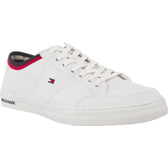 Trampki Meskie Tommyhilfiger Biale Tommy Hilfiger Harrington 5d2 Tommy Hilfiger Sneakers Dc Sneaker